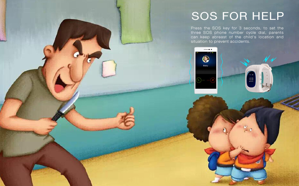 Smart devices for kids come with SOS feature