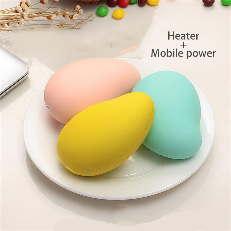 Small Mango Heater Aluminum heat sink Charging Mobile Power Warm Hand Treasure Handwarmer Usb Electric Baby Creative Gifts