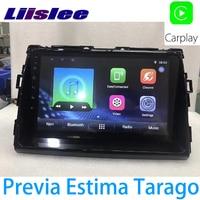 LiisLee Car Multimedia GPS Audio Radio Stereo For Toyota Previa Tarago Estima Aeras 2006~2015 Original Style Navigation NAVI