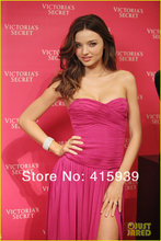 New Fashion Sweetheart Celebrity font b Dresses b font Sexy Off the shoulder SleevelessFloor Length Straight