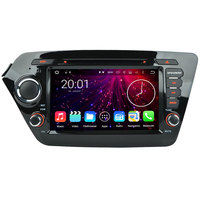 Android 7 1 2 Quad 4 Core 2GB RAM Car GPS Navigation System Stereo Media Radio