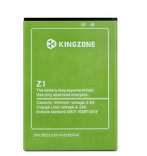 Original Kingzone Z1 battery 3500mAh backup Li-ion battery for Kingzone Z1 smartphone replacement