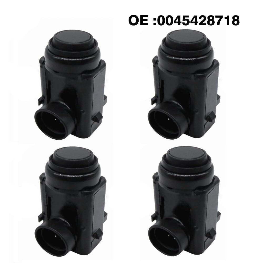 4 pcs PDC Sensor de Estacionamento Invertendo Radar 0045428718 para Mercedes benz E S ML Para W171 W203 W209 W210 W219 w230 W251 W639 W164