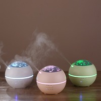 150ML Projector Design Ultrasonic Electric Air Purifier Humidifier Essential Oil Diffuser Air Humidifier Aroma Lamp