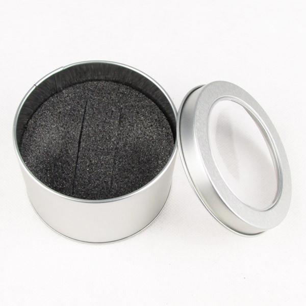 16 металл олово часы дисплей коробка ювелирные изделия коробка