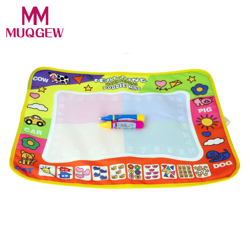 2016 Children Aqua Doodle Drawing Toys Mat Magic Pen