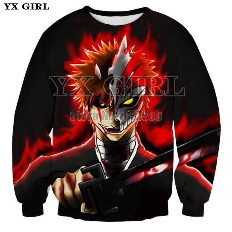 Aliexpress.com : Buy YX GIRL 2018 New Fashion Bleach Anime