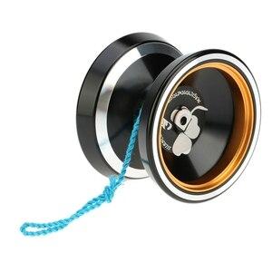 MAGICYOYO популярные игрушки для детей Профессиональный M001 алюминиевый сплав Yo-Yo токарный станок с ЧПУ Т-подшипник с спиннингом