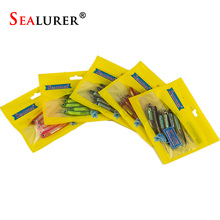 SEALURER Soft Lure 6pcs/lot 2.6g/90mm for Fishing Shad Fishing Worm Swimbaits Jig Head Soft Lure Fly Fishing Bait Fishing Lures