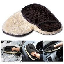 Уход рукавица подкладка бытовые перчатки мебель стекло пыль Бытовая Чистка Водонепроницаемая губка для чистки ткани 1 шт. перчатки для мытья автомобиля