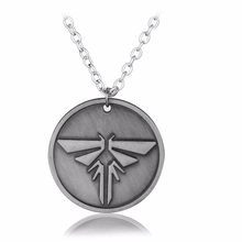 Video Game PS4 The Last of Us Firefly Dog Tag Necklace & Pendant The Last Of US Necklace Jewelry Accessories for Fans-10(China)