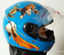 children motocross ful face helmet blue motorcycle kids helmets motorbike child MOTO electric bicycle safety headpiece