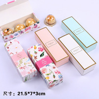 21.5*7*5cm Large Cardboard Box Packing Cake Boxes Cupcake Gift Box Free shipping 100pcs/lot lin4340