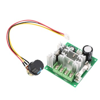 New DC 6V-90V 15A DC Motor Speed Control PWM Switch Controller 1000W image