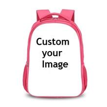 цены Customize the image Backpack Women Men Travel Bags Anime Children School Bags Backpack Boys Girls Book Bag kids Gift Backpacks