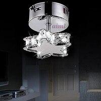 عالية الجودة الأطفال غرفة مصباح النجوم k9Crystal شكل LED k9 كريستال مصابيح السقف 1 ضوء بسيط الحديثة الفني 110  240v|crystal ceiling lamp|ceiling lampcrystal ceiling -