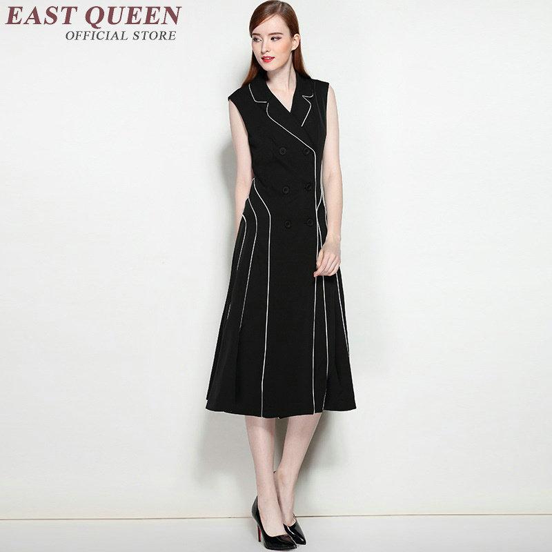 Business dress clothes sundress ladies fashion autumn fashion womens sundresses NN0977 C