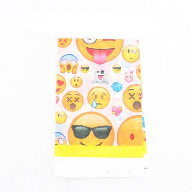 1 Pcs Emoji Cartone Animato Tema Di Tovaglie Di Plastica Per Bambini Baby Shower Regalo Di Buon Compleanno Decorazione Del Partito Strumenti Di Bambini Della Ragazza Del Ragazzo Forniture Ineguale Nelle Prestazioni