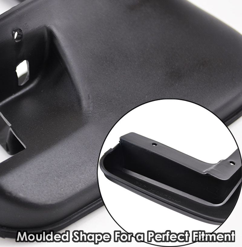 Image 4 - Genuine XUKEY Car Mud Flaps For Audi A3 A4 A6 (8E 8P B6 B7 C6) Mudflaps Splash Guards Mud Flap Mudguards Fender Car Accessories-in Mudguards from Automobiles & Motorcycles