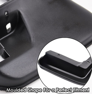 Image 4 - Genuine XUKEY Car Mud Flaps For Audi A3 A4 A6 (8E 8P B6 B7 C6) Mudflaps Splash Guards Mud Flap Mudguards Fender Car Accessories