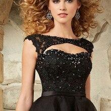 Vestido коктейльные короткие черные коктейльные платья из органзы с глубоким вырезом на спине вечерние платья vestido de festa curto