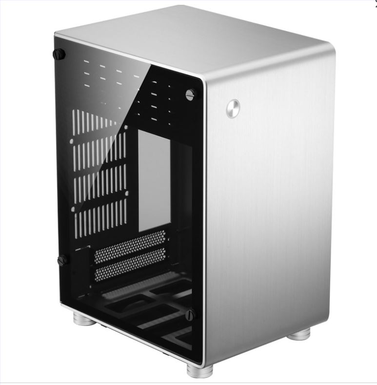 jonsbo U1 PLUS ITX aluminum side through the chassis Desktop level small Computer case