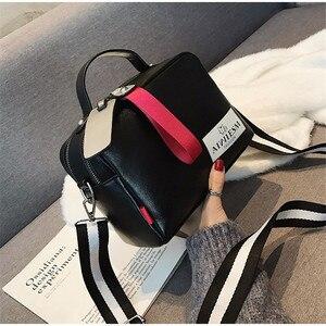 Image 1 - Grande capacité sacs à main de luxe femmes sacs concepteur Double fermeture éclair couleur unie sacs femmes offre spéciale sac femme 2019 noir femmes