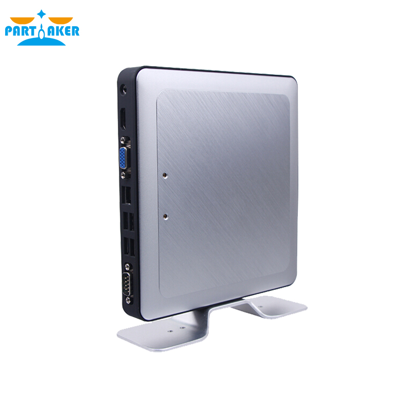 Fanless Quad Core Mini Pc K662N J1900 12V Industrial Pc Linux Embedded CE FCC Rohs