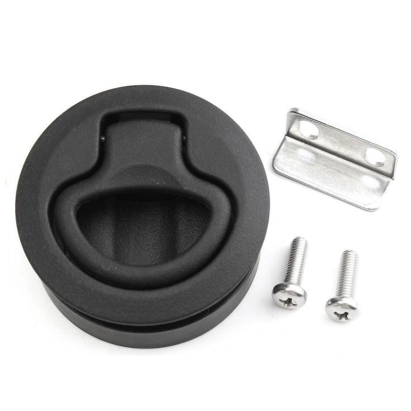 Slam Latch Hatch Round Pull Latch Door For Marine Boat 12-17 Mm