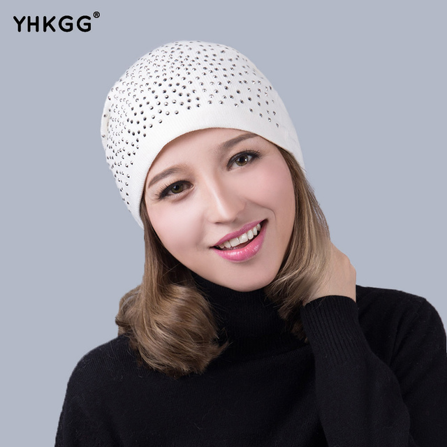 2016 mais recente moda estilo punk chapéus para fazer compras em geral sectionwinter gorros de lã tricotados