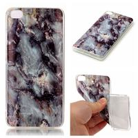 MuTouNiao For Xiaomi Mi 5S Gray Marble TPU Soft Silicon Back Shockproof Phone Case Cover For Xiaomi Mi 5S Case