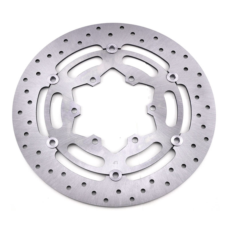 LOPOR LOPOR 2 PCS Motorcycle Front Brake Disc Rotor For Suzuki GSXR600 GSXR750 2008 2009 K8 K9 GSX-R600 GSX-R750 08 09 NEW keoghs motorcycle brake disc brake rotor floating 260mm 82mm diameter cnc for yamaha scooter bws cygnus front disc replace