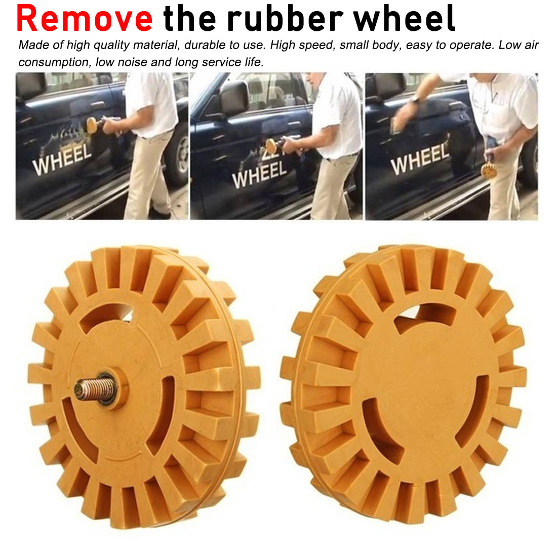 Polishing Wheel Decal Remover 1/4