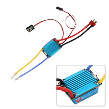 Remote Control Car Replacement ESC Waterproof Brushed ESC 160A 3S with 5V 1A BEC T Plug