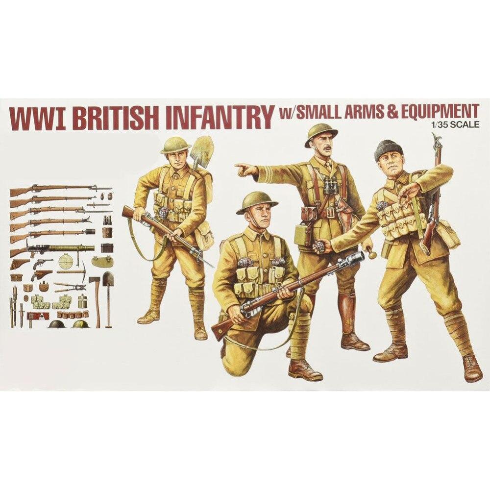 OHS Tamiya 32409 1/35 британская пехота набор wwi миниатюры сборки военные Фигурки Модели Строительные наборы G