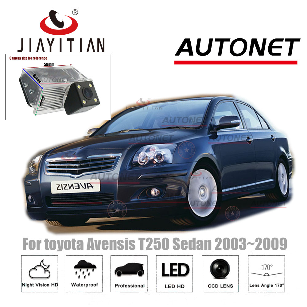 JiaYiTian rear view camera for <font><b>toyota</b></font> Avensis T25 <font><b>T27</b></font> T250 T270 sedan 2003 2006 2009 CCD Night Vision license plate camera image