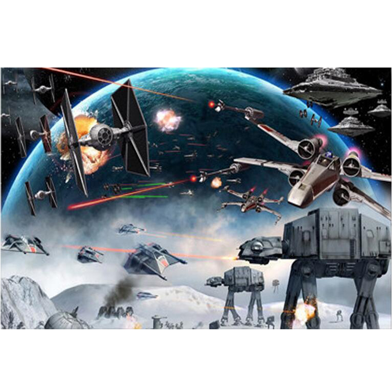 3d diy diamond puzzle 5d diy diamond painting Star Wars Embroidery diamond mosaic Picture Of Rhinestone wall Decor C52 in Diamond Painting Cross Stitch from Home Garden