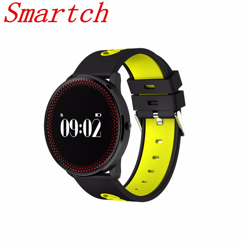 Smartch CF007 Smart Band Sports Bracelet Heart Rate Monitor Blood Pressure / Oxygen Fitness Bracelet Tracker Wristband Wrist Wat
