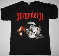 MEGADETH asesinato es mi negocio negro camiseta velocidad basura metal Metallica Exodus