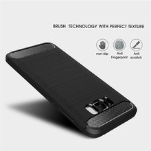 Soft Flexible Carbon Phone Case for Samsung Galaxy S8 S9 S10 Plus Note 8 9 Case S10e S7 Edge A50 A7 2018 Cases Etui Cover Man