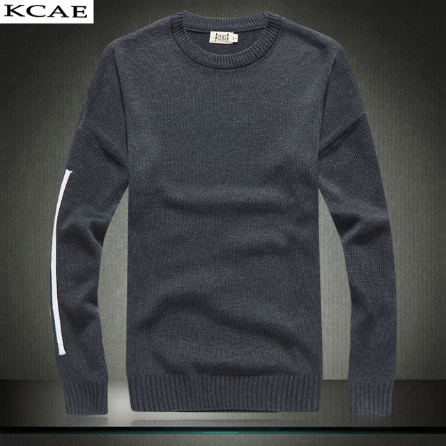 New Sweater Men Casual Sweaters Mens O-Neck Knit Warm  Pull Plus size M-3XL Male Sweater
