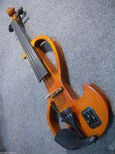 Violine Neue 4/4 Elektrische violine Großen Kleine Buchse Schönen Klang System MP3 backsound
