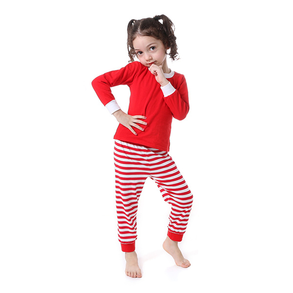 Kaiya Angel Christmas Girls Boutique Outfits Christmas Clothing Set Red Green Green Stripe Shirt Leggings Suit 2 Pcs Pajamas 11