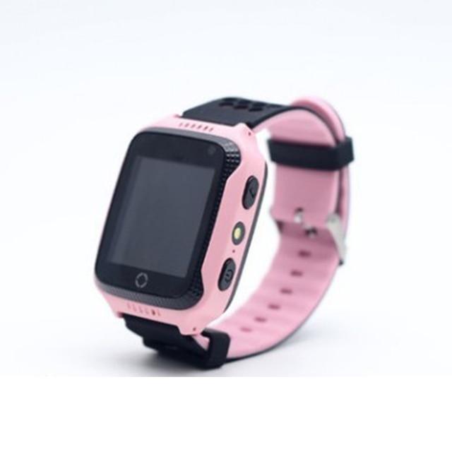 BOX-W Fashion touch screen watch Q528 GPS track big button sos emergency phone kids smart watch 5