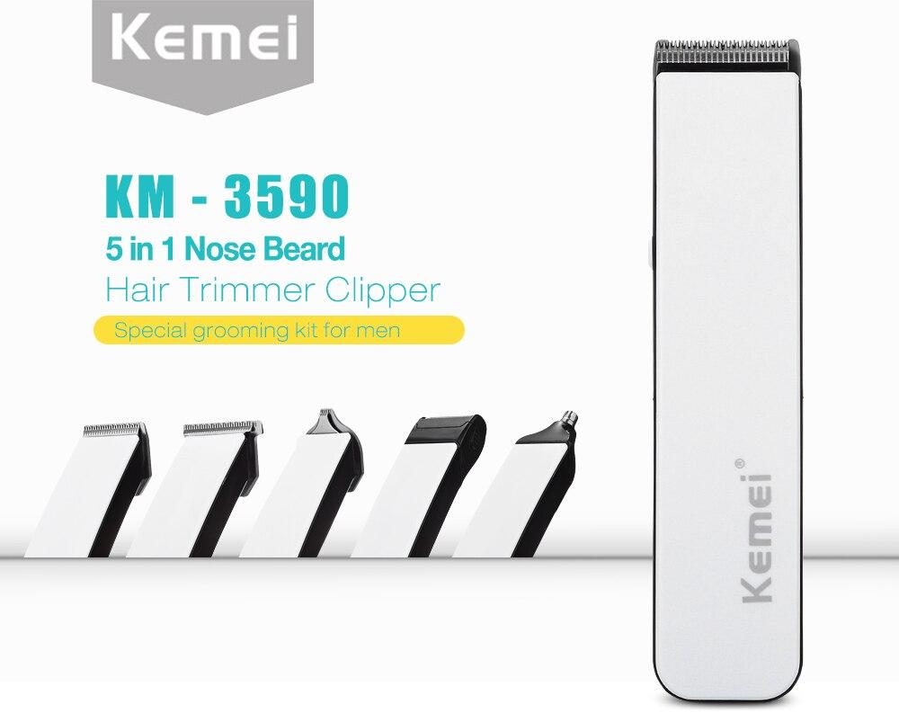 Kemei KM-3590 Trimmer 4