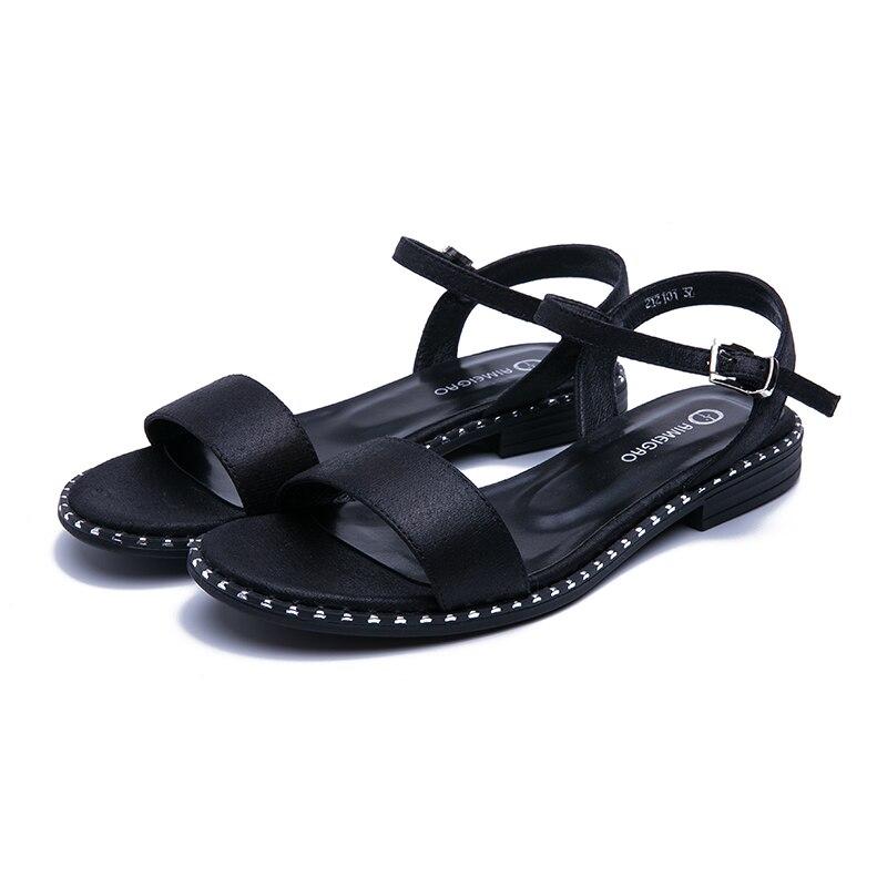 HTB1qTAcbjzuK1RjSspeq6ziHVXaL AIMEIGAO 2019 New Summer Sandals Women Casual Flat Sandals Comfortable Sandals For Women Large Size Women's Shoes