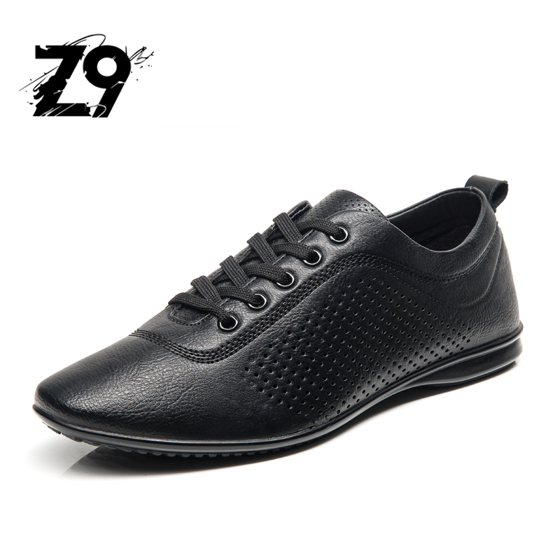 2017 Hot Sale Casual Shoes Men Spring Autumn Solid Lace-up Man Fashion Flat With Pu Leather Outdoors Shoe G23157-30 2017 spring brand new fashion pu stretch fabric men casual shoes high quality men casual shoes lace up casual shoes men 1709