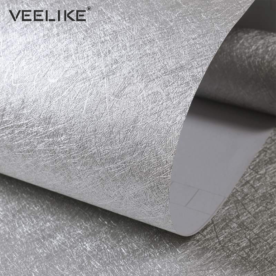 Modern Bedroom Living Room Decor Self Adhesive Wallpaper Roll For Wall Decor Vinyl PVC Silk Contact Paper For Kitchen Home Decor