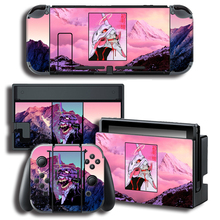 EVA Evangelion for Nintendo Switch NS Console + Controller + Stand Holder Protective Film
