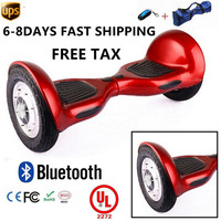 Free Shipping Hoverboard 10 Inch With Inflated Tires